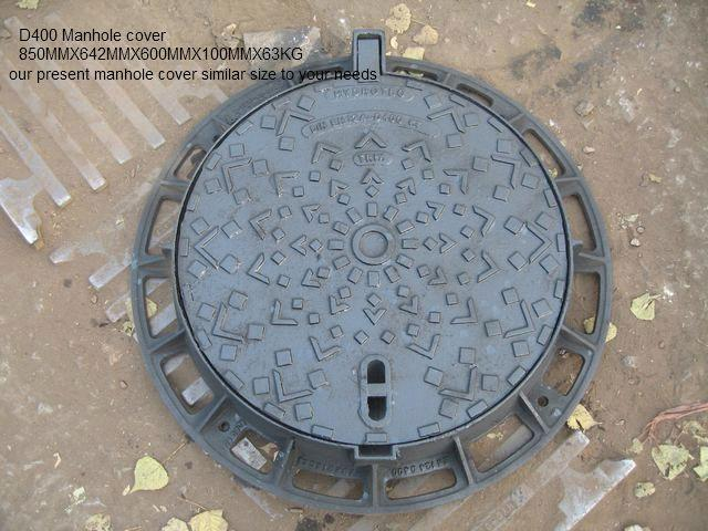 Manhole cover with frame purchasing souring agent ecvv