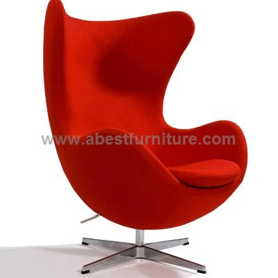 Replica modern classic furniture arne jacobsen egg chair for Imitation designer chairs