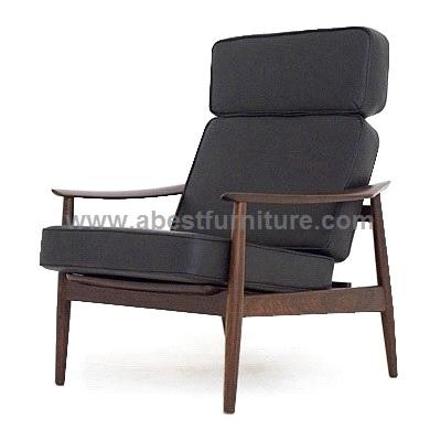 Replica modern classic furniture arne vodder easy chair for Imitation designer chairs