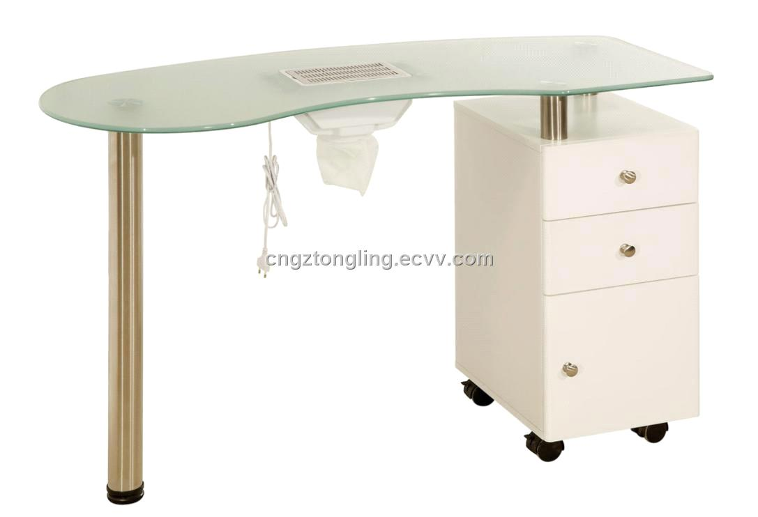 Nail salon nail table wooden manicure table j739 china for Nail salon table