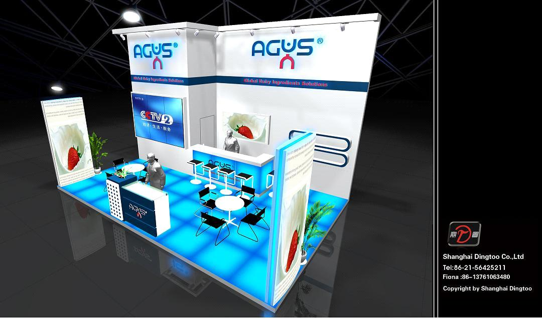 stand decoration and design - China booth construction