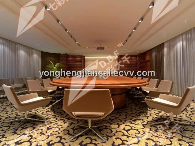 soft sound-absorbing fireproof conference room pvc flooring