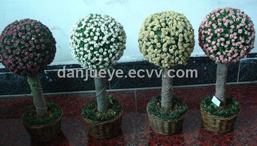 plastic boxwood topiary tree plant for wedding home garden decoration