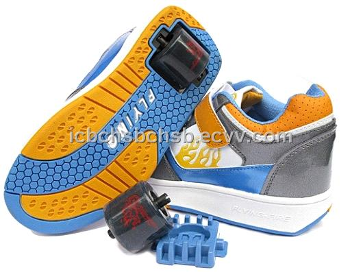 FLYING FIRE NEW DESIGN ROLLER SHOES AND ONE WHEEL SHOES - China