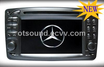 Mercedes benz viano clk c209 car dvd gps with radio for Mercedes benz car radio repair
