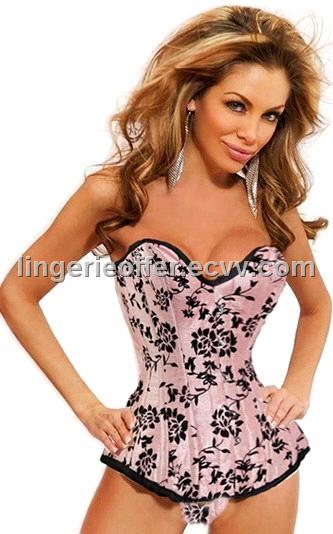 Sexy Top Pink Bustier S/M/L/XL/XXL (LD-10328)