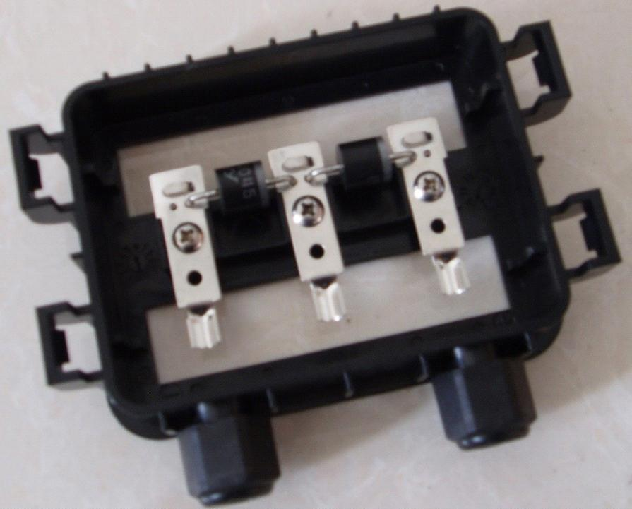energy saving solar panel junction box