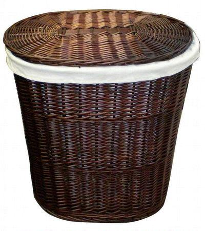 Wicker on Wicker Laundry Baskets   China Wicker Laundry Baskets
