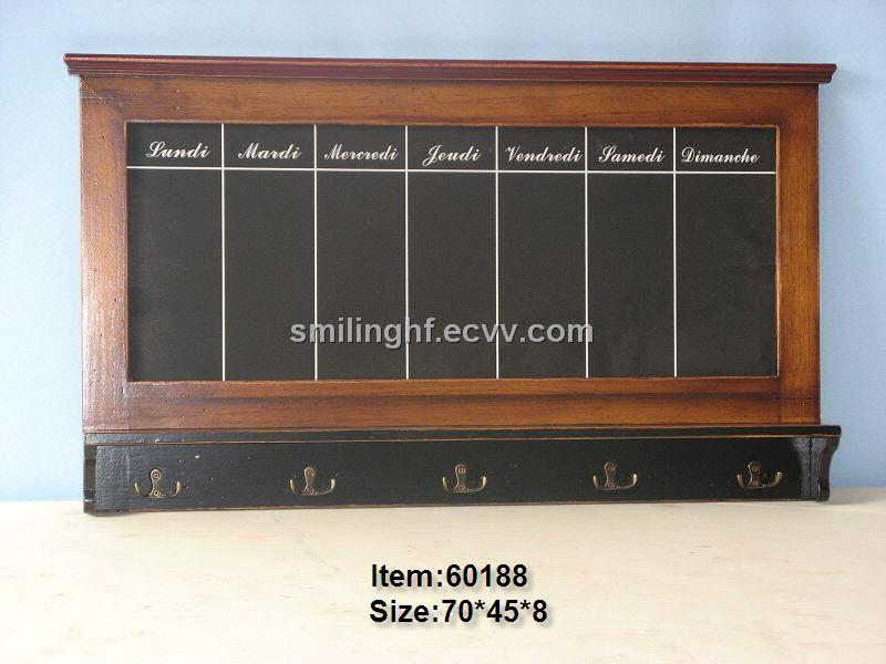 Wood Black Board Decoration 60188