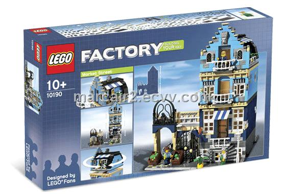 Home > Products Catalog > NEW Lego Factory Set # 10190 Market Street