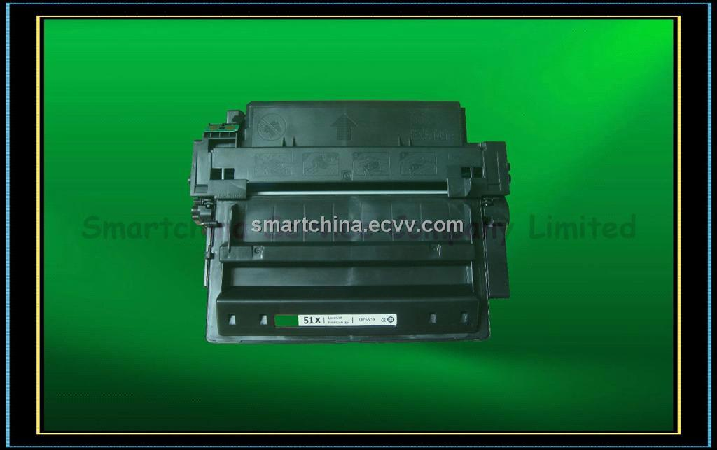 Compatible black Toner Cartridge for HP Q7551X