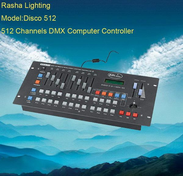 dmx 512 disco 512 channels computer controller disco512 controller china moving light. Black Bedroom Furniture Sets. Home Design Ideas