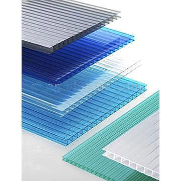 Ge Lexan Material Daylighting Polycarbonate Twin Wall
