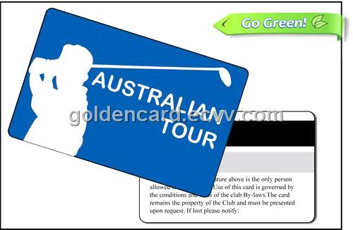 Golf Club Membership Card GC-10001T-MC