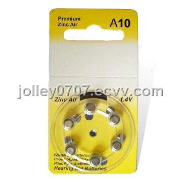 Hearing aid battery A10.A13.A312.A675