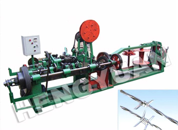 Hengyuan Brand Barbed Wire Machine Serious Double Twisted