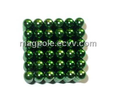 Puzzle toy green edition buckyballs neocube as game home for Architectural decoration crossword clue