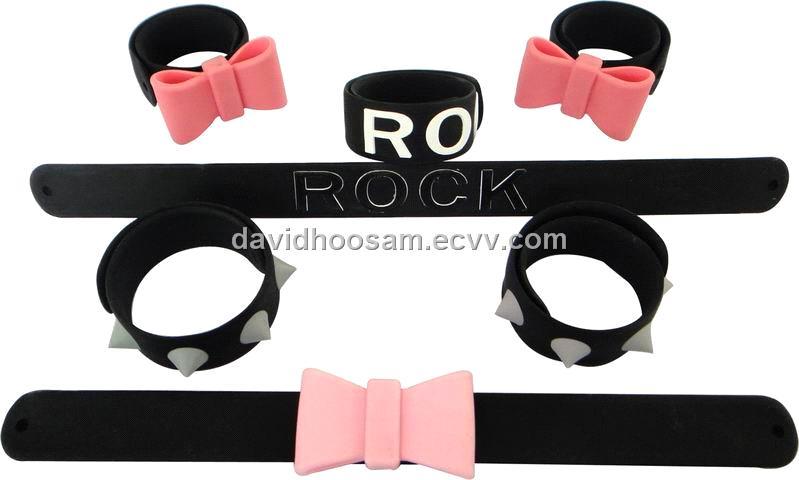 Extra Mile promotional Slap Bracelets (20% Discount): Slap