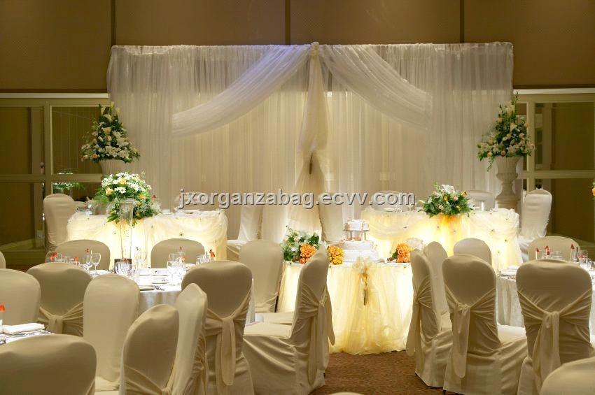 Tulle Organza Wedding Decoration 2