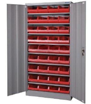Workshop Shelves And Cabinets