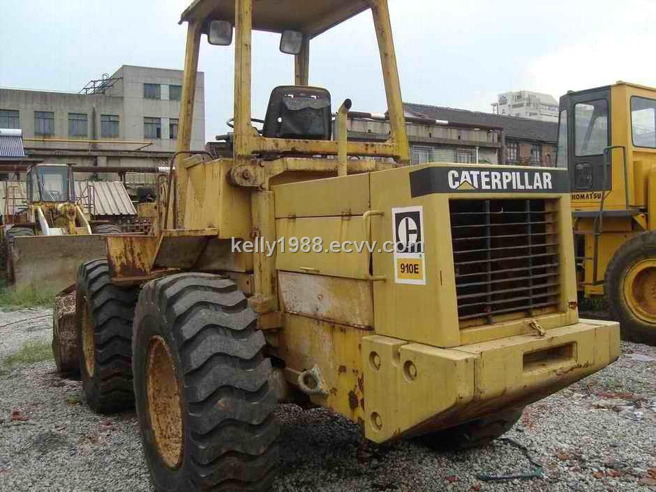 caterpillar loader 910e