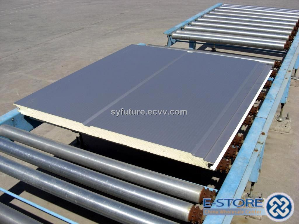 Polyurethane Sandwich Panel Roof : Polyurethane sandwich panel for roof and wall purchasing