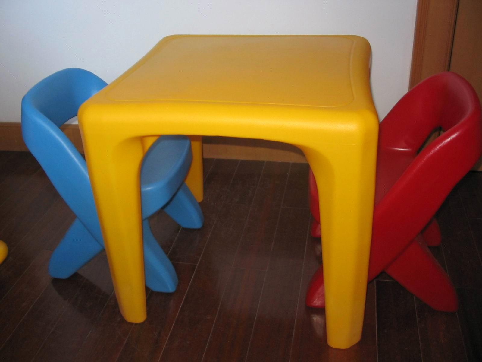 Rotomolding Kids Chair And Desk Children Furniture
