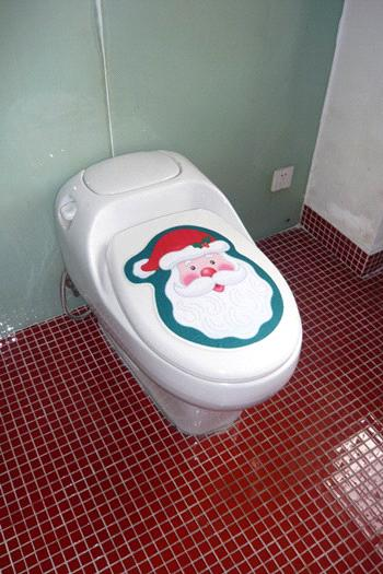 Self Adhesive Toilet Seat Decoration Sticker From China