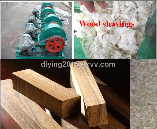 Wood shaving machine for animal beds purchasing souring