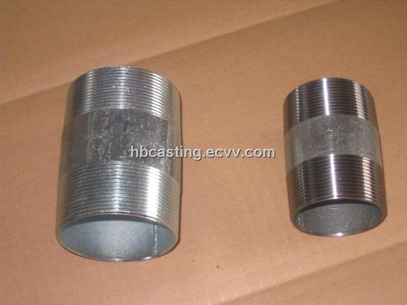 Carbon steel pipe nipple barrel npt bspt purchasing