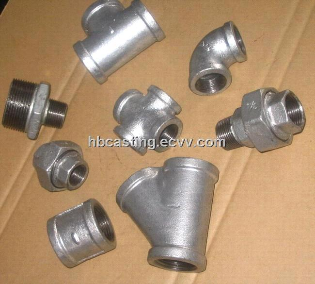 Malleable casting iron pipe fittings american standard