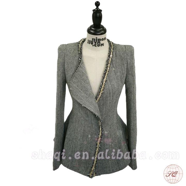 New Fashion hot Women suits fashion ladies jacket Elegant office wear Red jacket free/sh