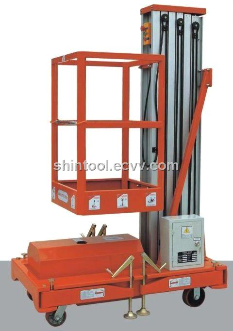 mobile electric telescopic lift