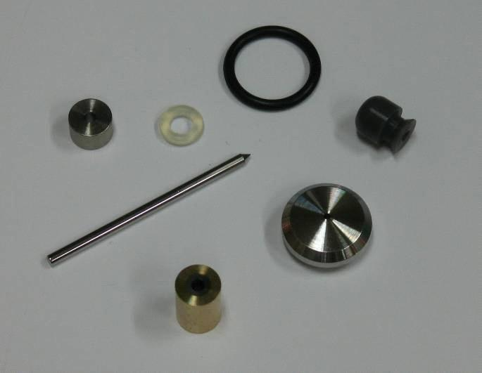 On off valve repair kit for flow style cutting head