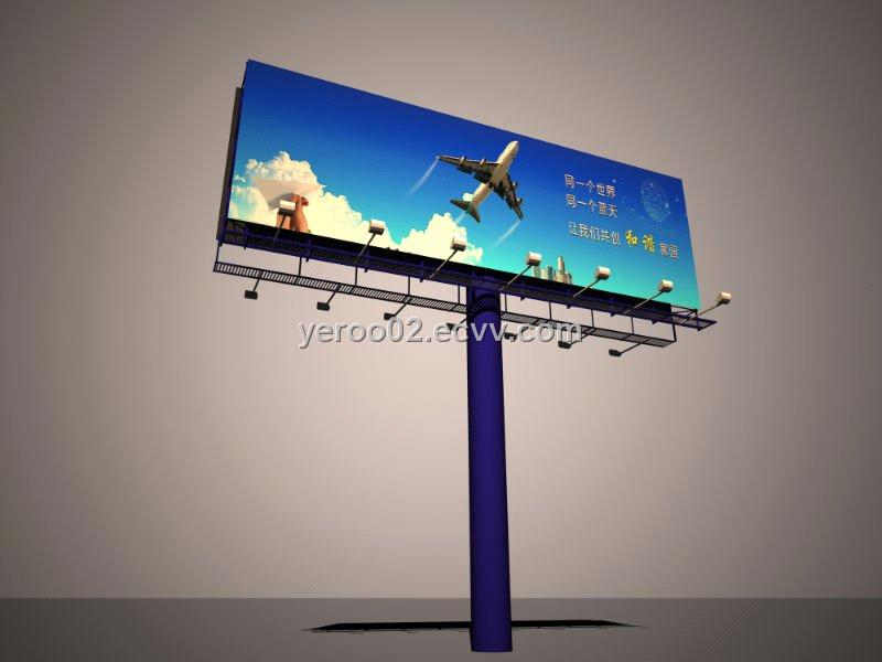 Outdoor Advertising Highway Billboard From China