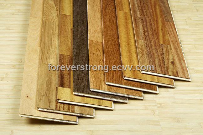 Double unilin click commercial grade laminate flooring