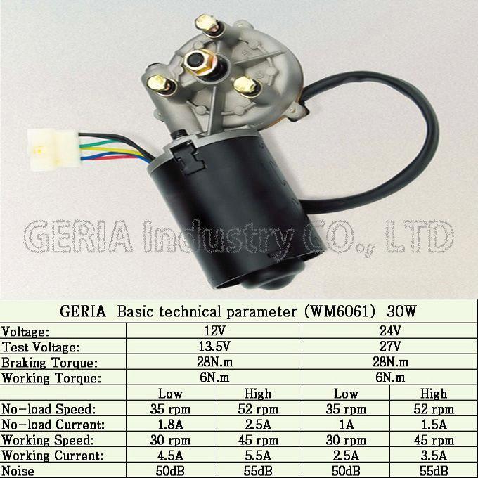Wiper Motor (For Bus\Truck\Marine\Trian Wiper) purchasing ...