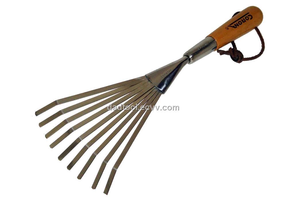 9 teeth small rake purchasing souring agent for Small rake garden tools