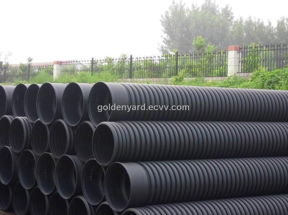 Hdpe Double Wall Corrugated Pipe For Sewage Drainage