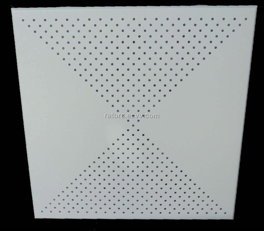 Perforated Aluminium False Ceiling Tiles From China