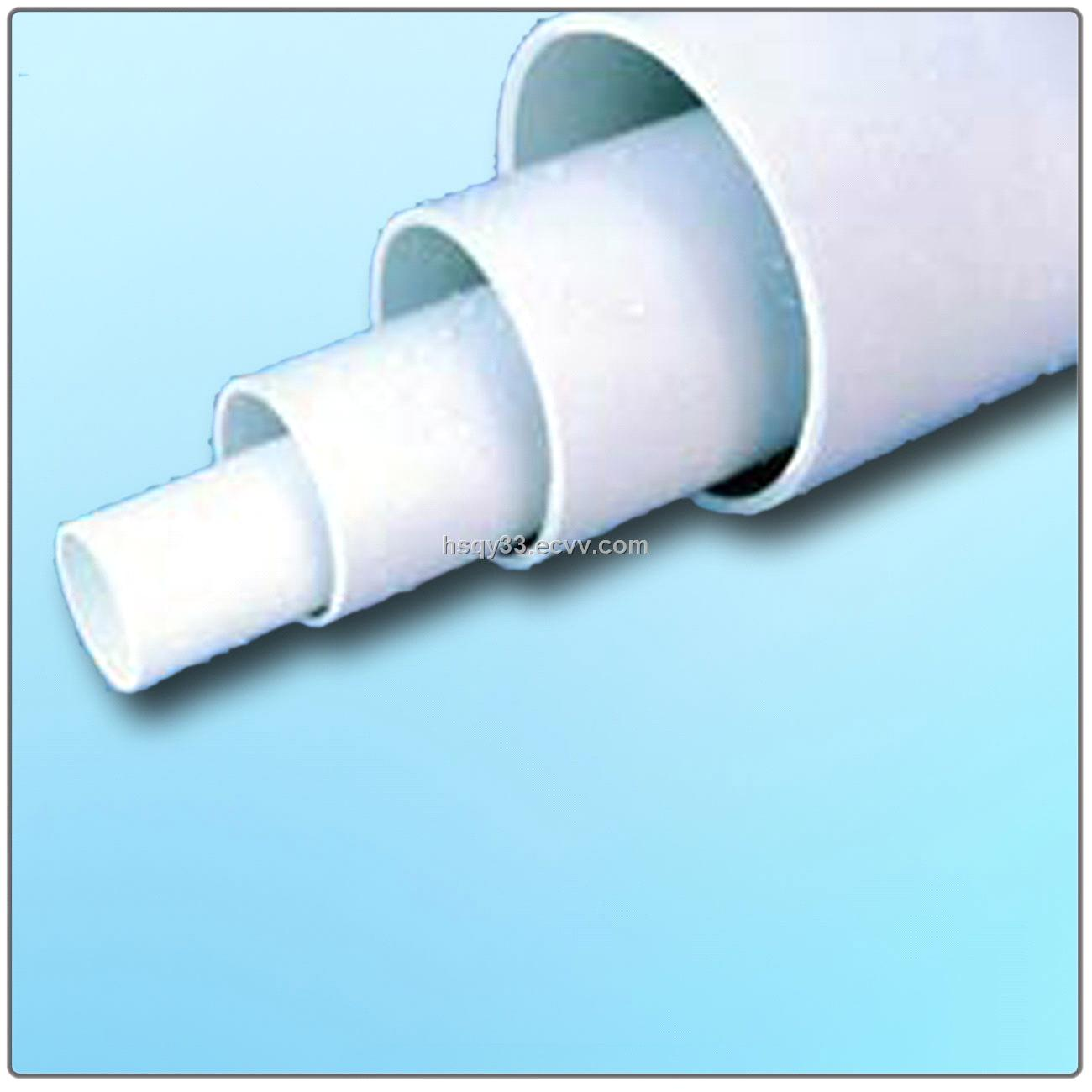 Plain end upvc pipes purchasing souring agent ecvv