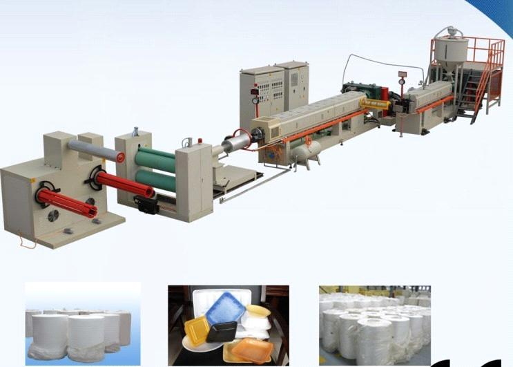 Pp Corrugated Sheet Extrusion Line Pp Hollow Profile Sheet