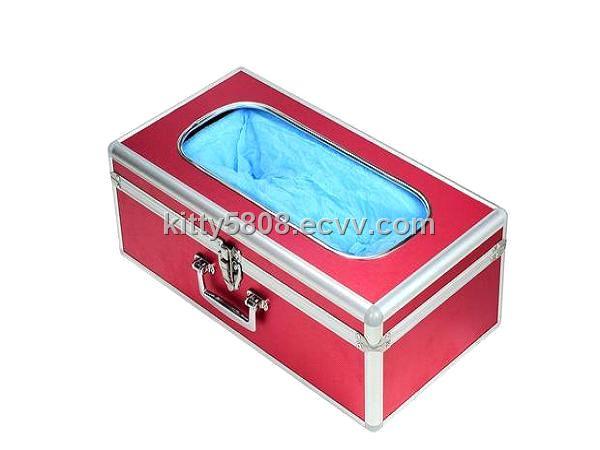 Wiredrawing Red    Aluminium Alloy Shoe Cover Dispenser G02-07