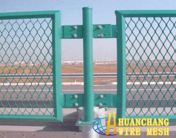 Bridge Fence Net Anti Glare Mesh One Kind Of Fence Wire