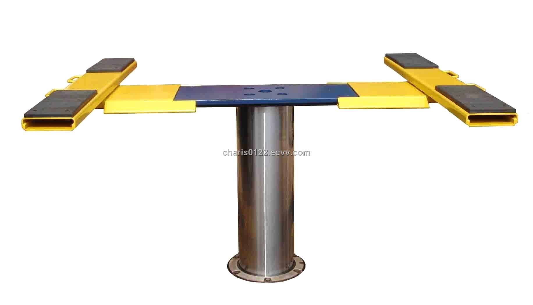 In Ground Car Lift : In ground single post auto lift purchasing souring agent