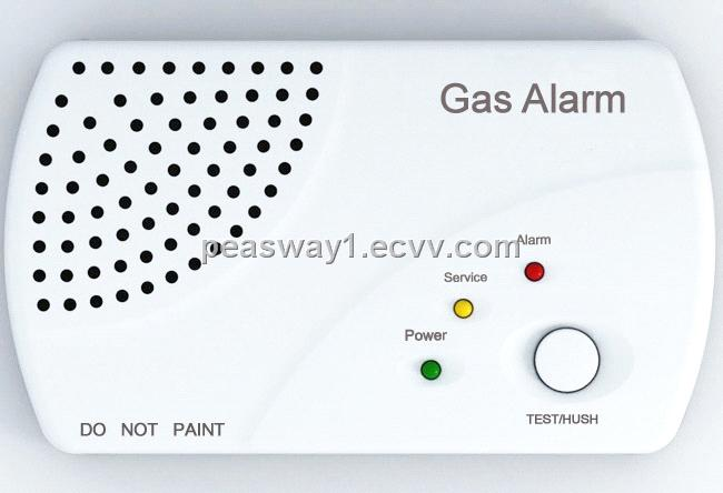 Detector de gas natural butano propano autonomo y con for Detector de gas natural