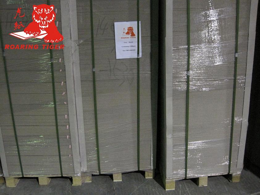 Gray chipboard for making cosmetic boxes purchasing