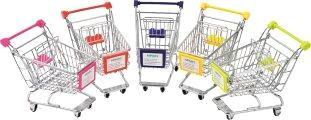 Supermarket Shopping Trolleys on wheels Kids Trolley Series HBE-MN-1,145x95x135mm