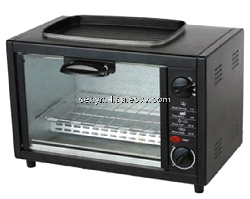 Electric Toaster Oven ~ L basic function black home baking electric toaster oven