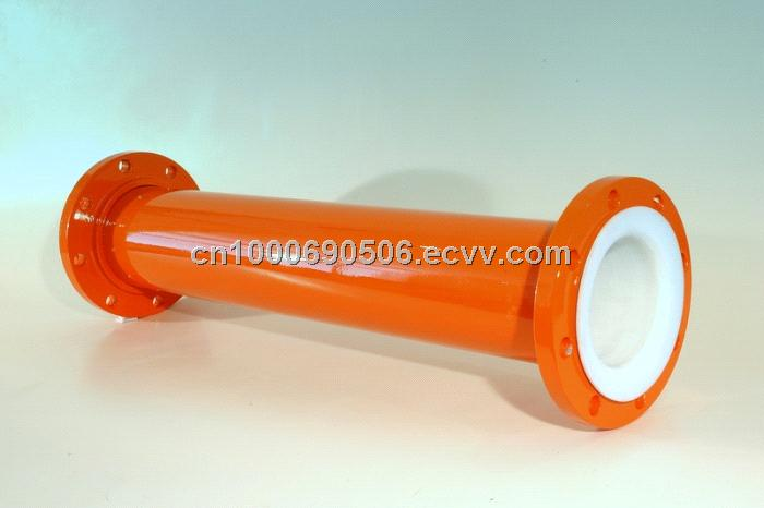 Ptfe lined pipe with high temperature resistance